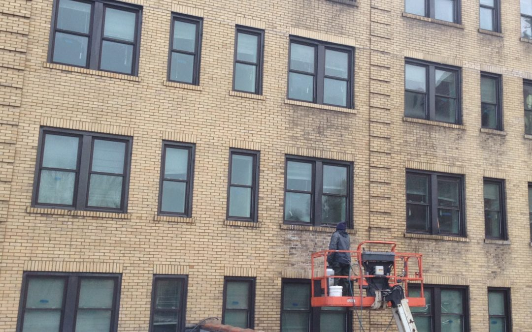 Exterior Building Cleaning Chicago | Chicago Power Washing